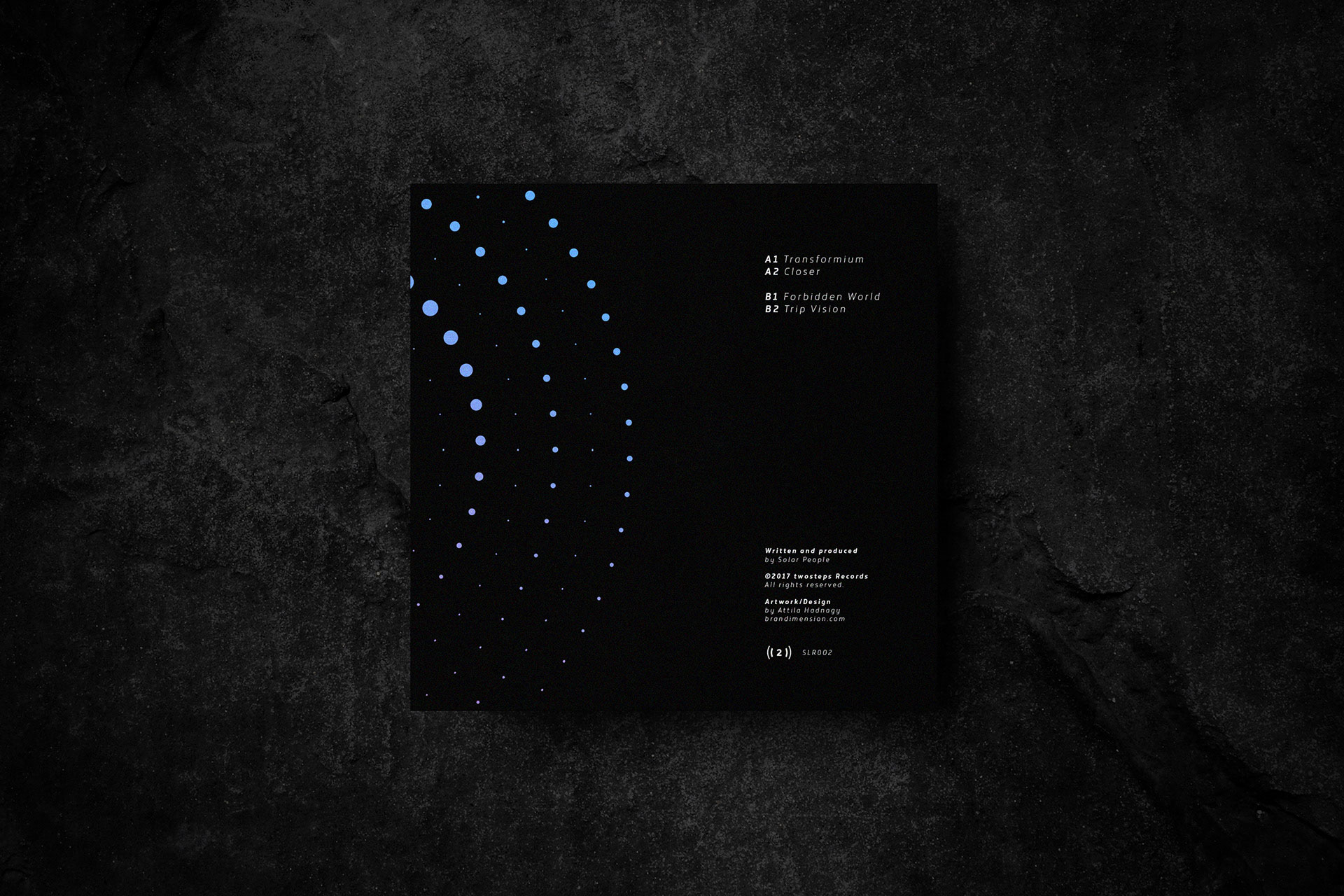 Solar People Vinyl cover design
