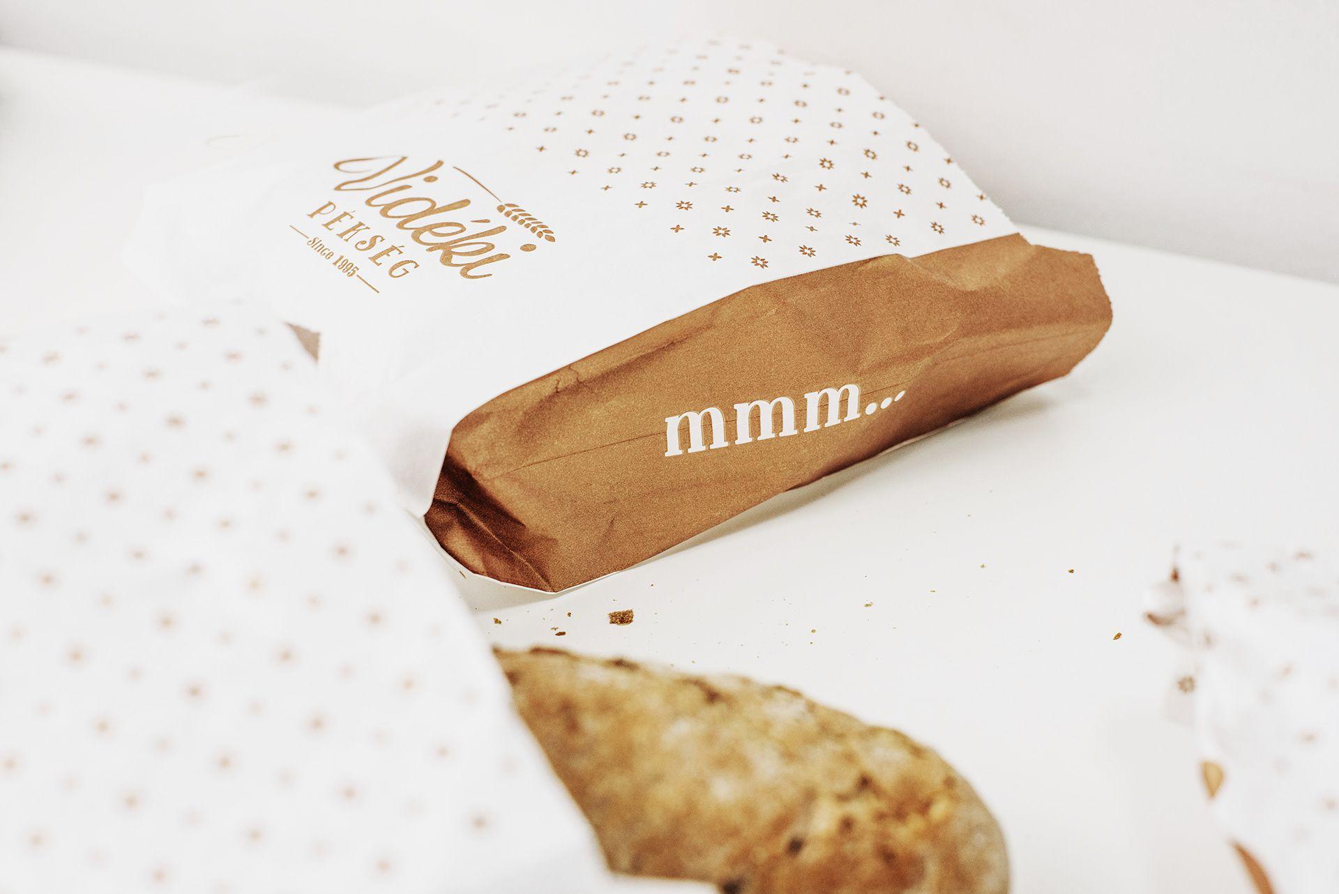 Packaging design for Bakery