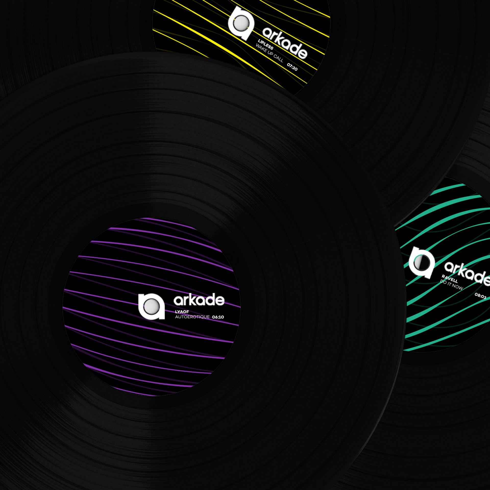 Arkade - The Vinyl Collection - Vinyl packaging design